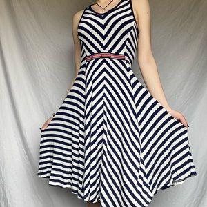 Jessica Simpson Size Small Striped Maternity Dress